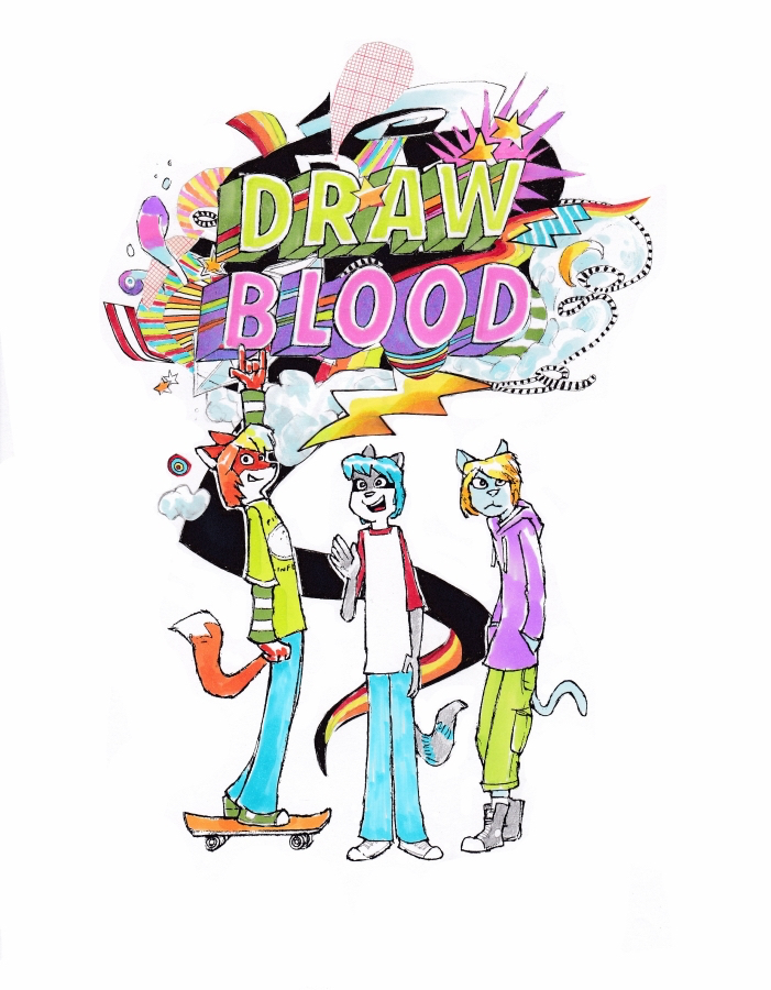 Review: Draw Blood by Ron Hotz